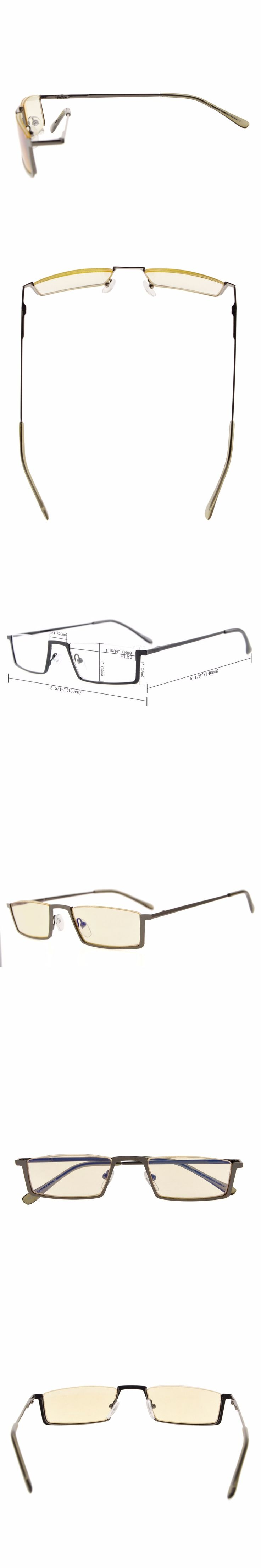 CG1613 Eyekepper Quality Spring Hinges Half-Rim Computer Readers Reading Glasses Eyeglasses