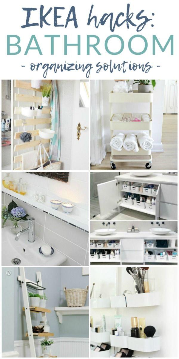Ikea Bathroom Organizing Hacks 7 Stunning Ideas Ikea Bathroom Ikea Organization Hacks Ikea Bathroom Storage
