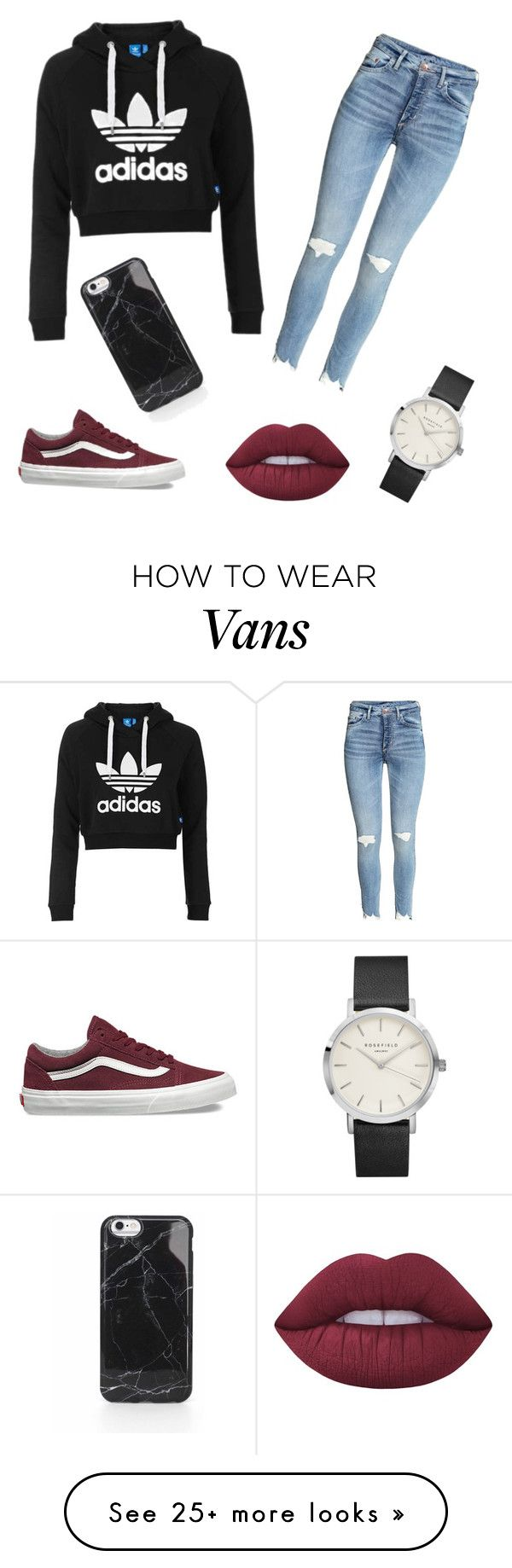 """Trendy"" by mollyatwood2 on Polyvore featuring Topshop, Vans and Lime Crime"