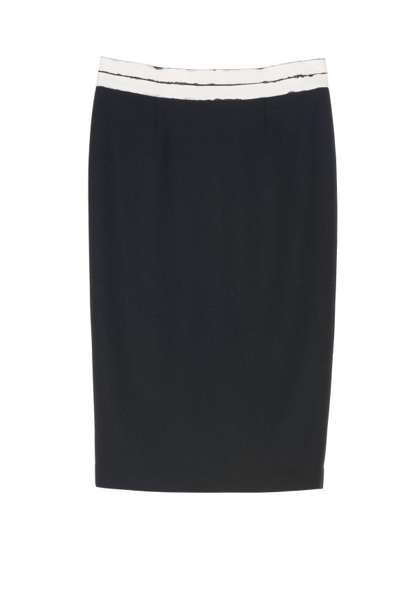 "QL2 - KAELEA WOOL PENCIL SKIRT  (""KAELEA"" MEANS STREAMLINED) #women's #fashion"