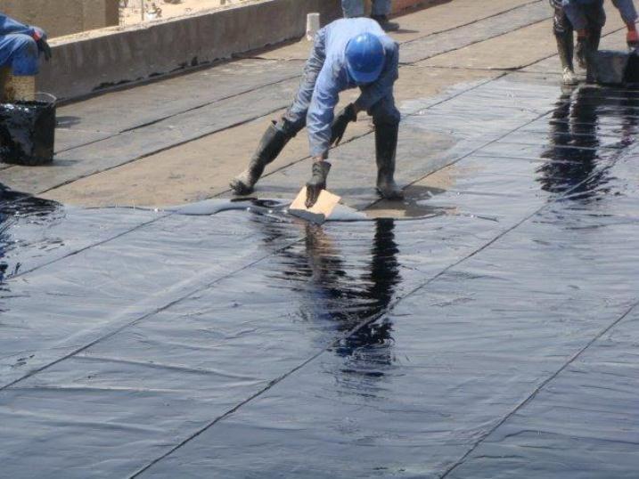 Water Proofing Work Waterproofing Basement Commercial Roofing Roof Waterproofing