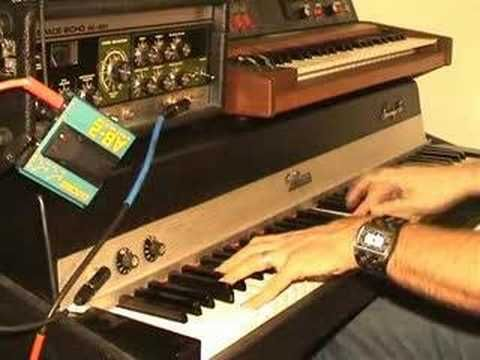 Fender Rhodes amp test  More examples of what a Rhodes sounds like. I love the Rhodes!