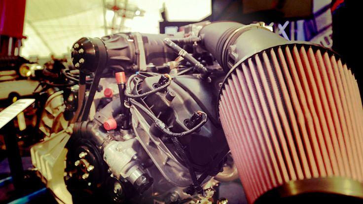 Engine shot!