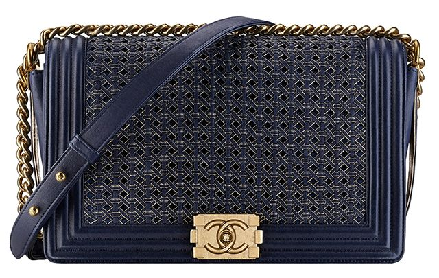 The Beautiful Bags of Chanel Spring 2014 Pre-Collection  -Chanel Braided Boy Bag