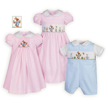 c4b138f7b Bunny s Garden Brother-Sister Easter Outfits
