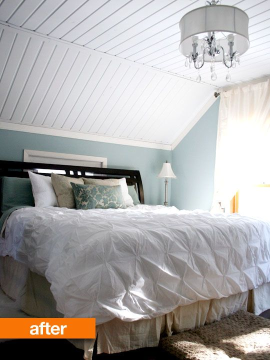 17 best images about house attic remodel on pinterest Wood paneling transformation