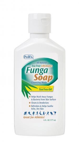 Pedifix All Natural Tea Tree Oil Funga Soap - Cleansing Foot Wash