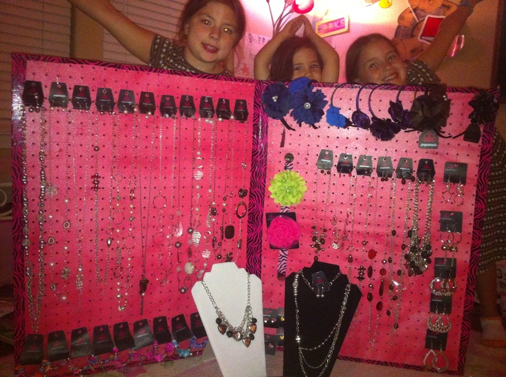 20 best pvc pipe display images on pinterest pvc pipes for Paparazzi jewelry display case