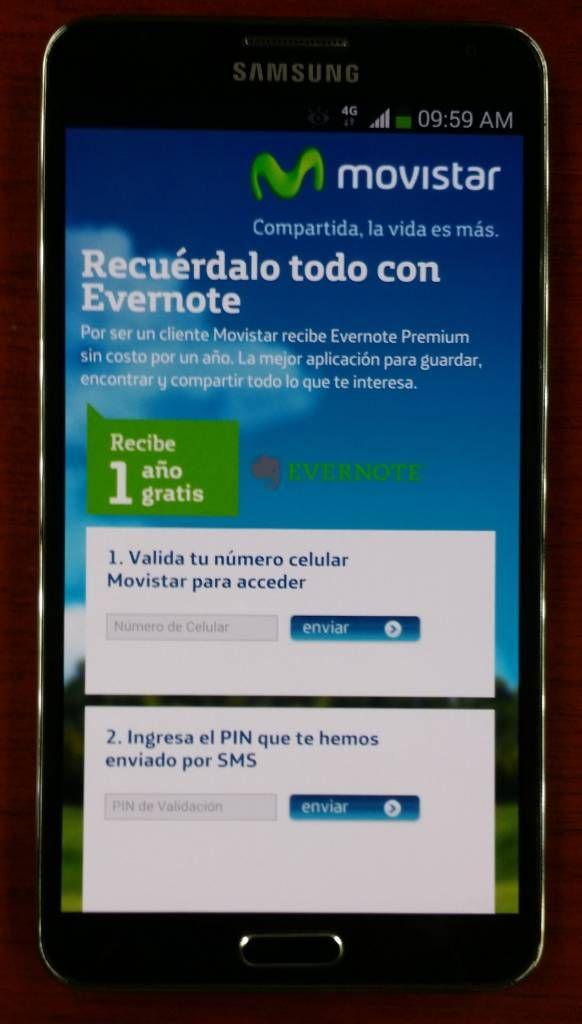#Movistar Perú regala a sus clientes un año de #Evernote Premium gratis #tecnología #noticias ---> http://www.tecnews.pe/movistar-te-regala-un-ano-de-evernote-premium/