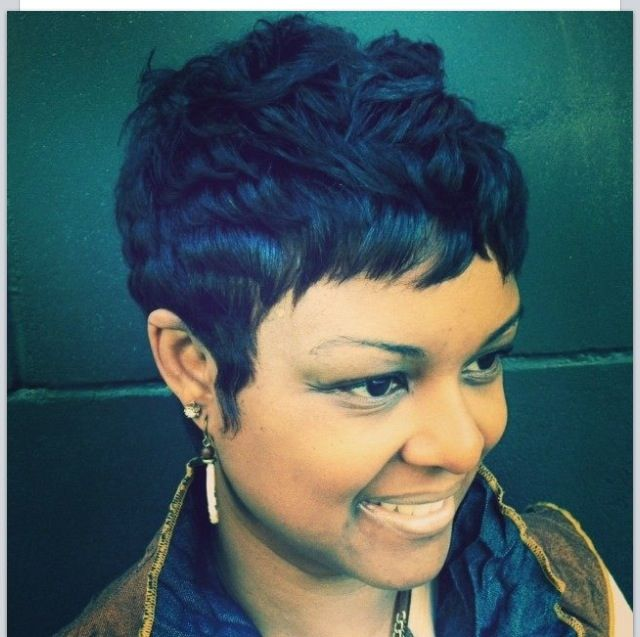 hair styles for lil black 118 best pixie cut images on pixie cuts hair 7727