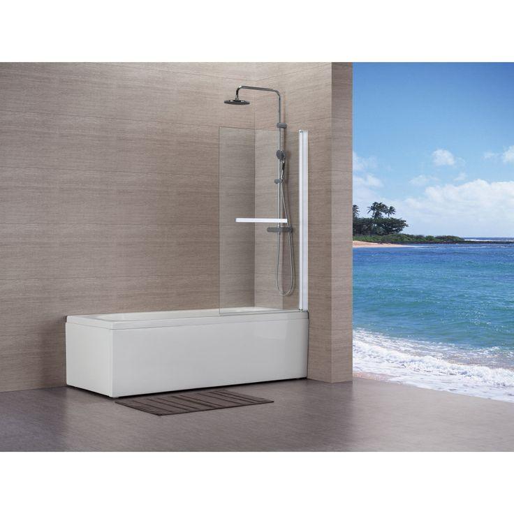 Les 25 meilleures id es concernant pare baignoire sur pinterest pare douche - Baignoire a porte lapeyre ...