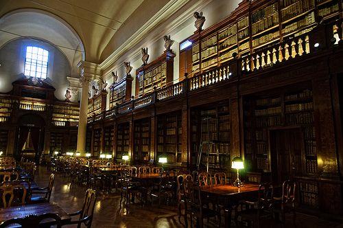 Library of the Istituto delle Scienze, Palazzo Poggi, Bologna | Flickr - Photo Sharing!