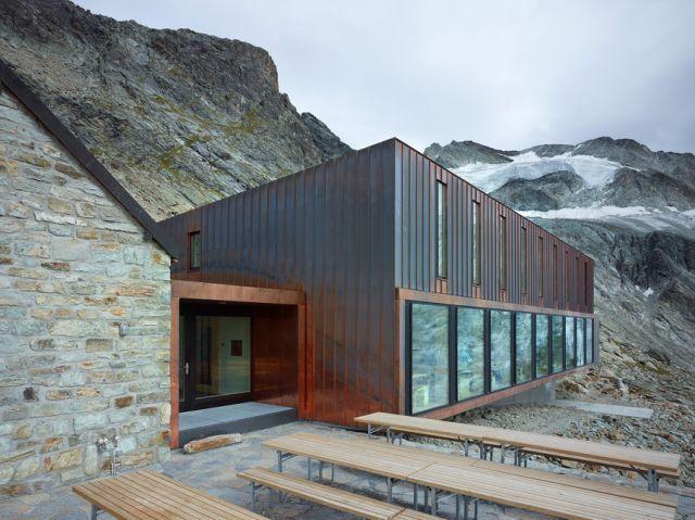 cabane de moiry | ingegneri pedrazzini guidotti