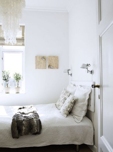 Romantic White Bedroom