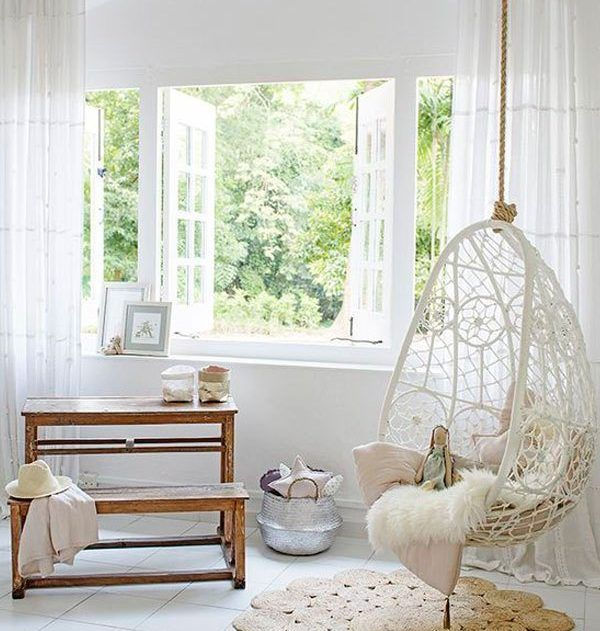 Swings In The Home Beautiful Addition For Real Pleasure Room Swing Swing Chair For Bedroom Swing Chair Bedroom