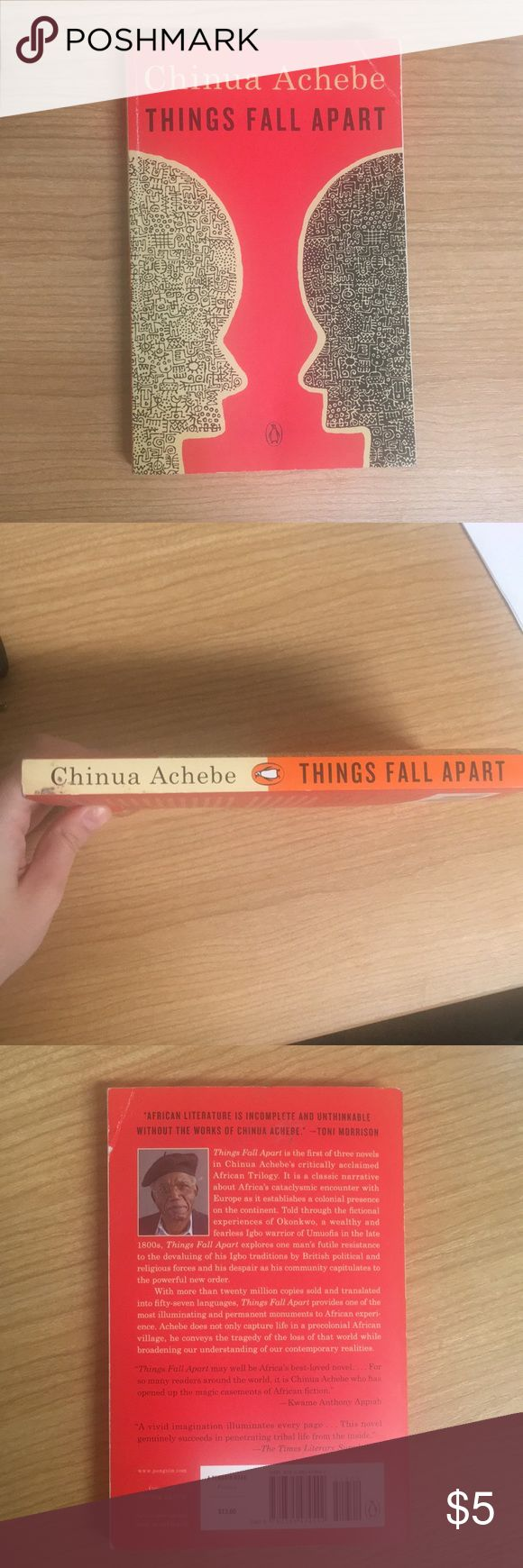 a book report on things fall apart by chinua achebe Get this from a library things fall apart [chinua achebe] -- first published in 1958, this novel tells the story of okonkwo, the leader of an igbo (ibo) community who is banished for accidentally killing a clansman.