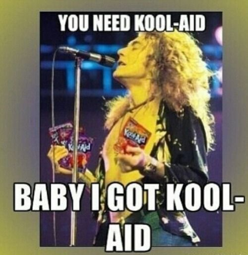 Led zeppelin kool aid