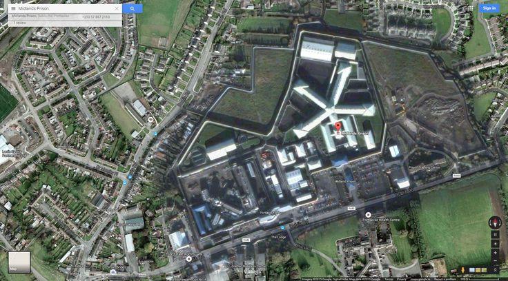 Portlaoise Maximum Security Prison google maps - Google zoeken
