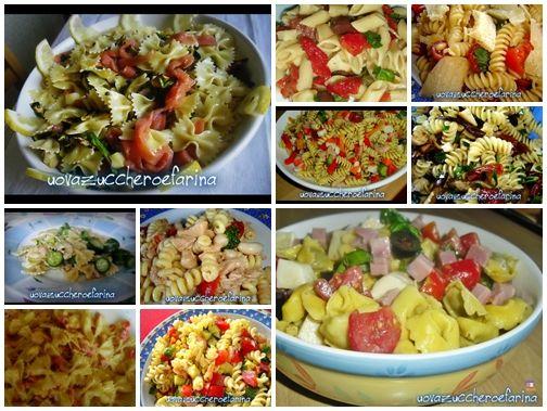 collage piatti freddi per l'estate_primi piatti