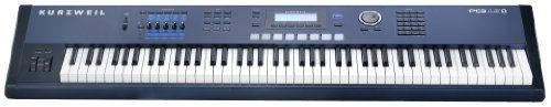 $$  Kurzweil PC3LE8 88 Note Performance Controller and Workstation Keyboard, Light Edition, Hammer Action Keys, Blue and Black #fairfieldgrantswishes