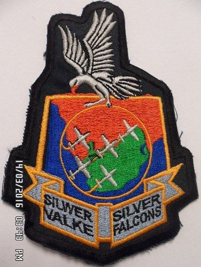 South African Air Force  SAAF  Silver by embroiderypapatedy
