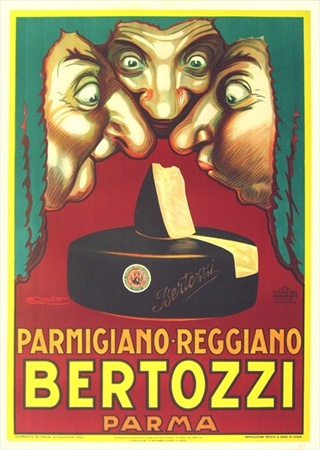Stinky cheese is the best kind of cheese!  Vintage European Posters at vepca.com