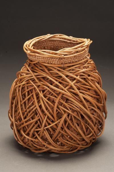 Basket Weaving Vancouver Bc : Jennifer zurick willow bark and honeysuckle baskets