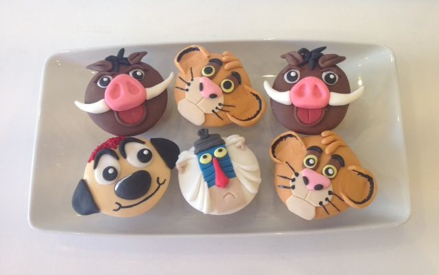 Lion King character cakes