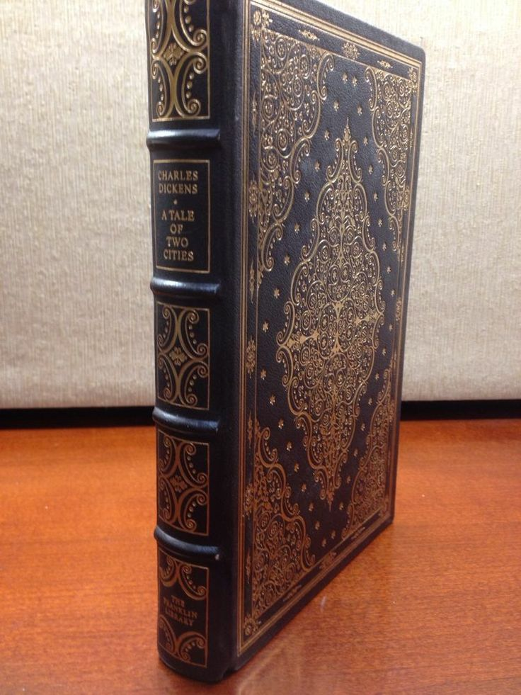 A Tale of Two Cities Charles Dickens Franklin Library Full Leather 100 Greatest