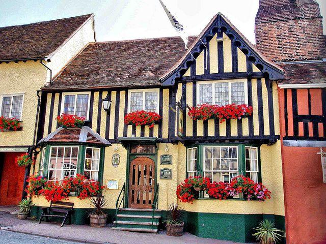 "Lavenham, UK ""The Crooked City"""