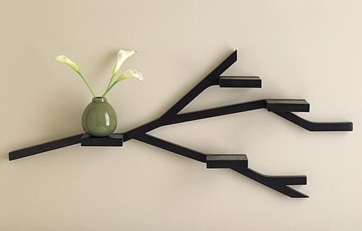 Branch Shelf Furnishings Better Living Through Design For The Home Pinterest Design