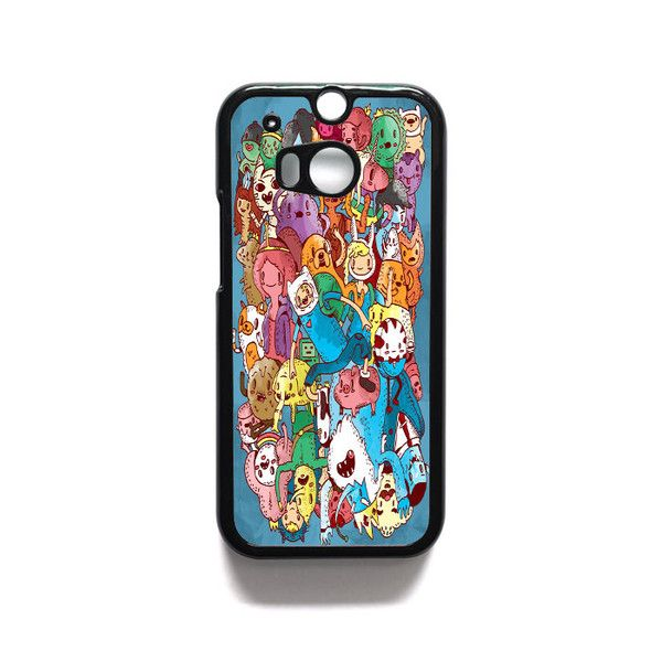Adventure Time Wow 5 HTC One M7 M8 iPod Touch 4 5 Case Cover