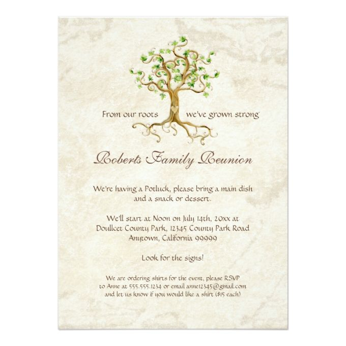 1494 best Reunion Party Invitations images on Pinterest Party - family reunion invitation template