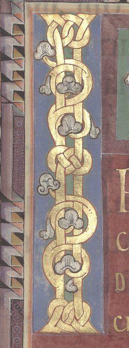 Evangiles pour différentes fêtes. Grandes peint. Date d'édition : 1001-1100 Type : manuscrit Langue : Latin Format : Parchemin pourpré Droits : domaine public Identifiant : ark:/12148/btv1b550059715