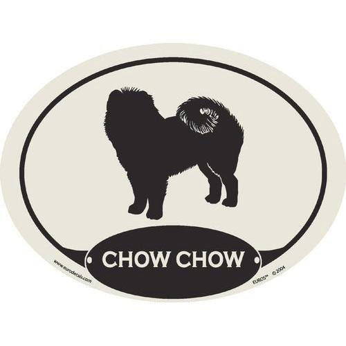 "Our Price $3.99  ID: 200600018855  These laminated, vinyl decals are primarily intended for application on vehicles, but any surface is an acceptable venue to ""show off"" your best friend. The decal has a removable adhesive which allows for easy transfer. The perfect gift for any Chow Chow lover!  http://www.calendars.com/Chow-Chows/Chow-Chow-Euro-Decal/prod101009/?categoryId=cat10057=cat10057"
