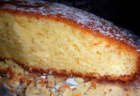 Torta all'arancia - Ricette di SardegnaRICETTE DI SARDEGNA