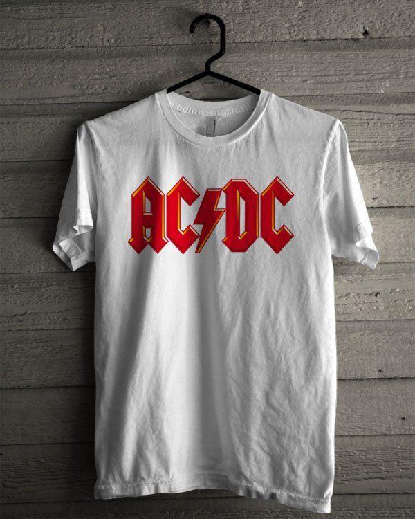 AC DC Band Logo Shirt | T-shirt Tees Tshirt Tanktop