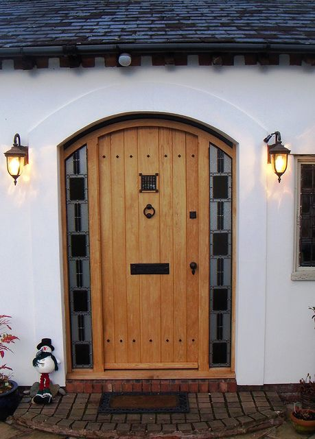 exterior doors with glass panels wooden front for sale in gauteng oak double