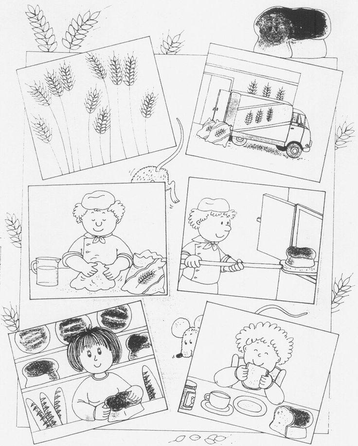 Van gaan tot boterham (werkblad).jpg (1168×1456)