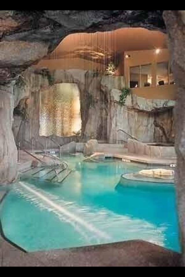 indoor pool - Cool Indoor Pools In Houses