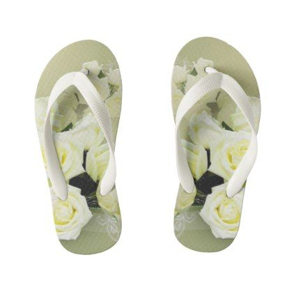 Custom Flip Flops Kids Kid's Flip Flops - diy cyo customize create your own #personalize