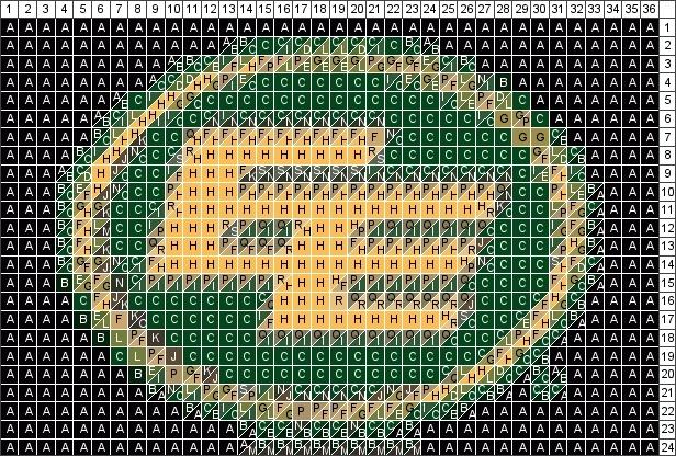 Edmonton Eskimos Quilt pattern
