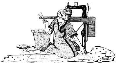El jueves es día de Solicitud - Cerezas, Costura, muchacho del Victorian, Bolso - los gráficos de hadas