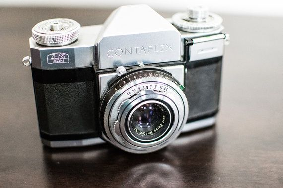 Zeiss Ikon Contaflex Vintage Film Camera by CheerfulCollections