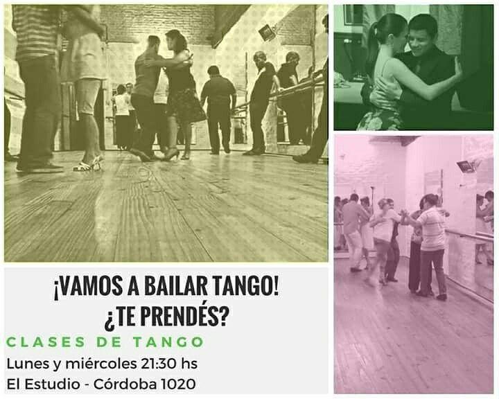 Hace frío y está especial para abrazarse en un tango... Vamos a aprender tango... Te esperamos!  Lunes y Miércoles 21:30 hs Córdoba 1020