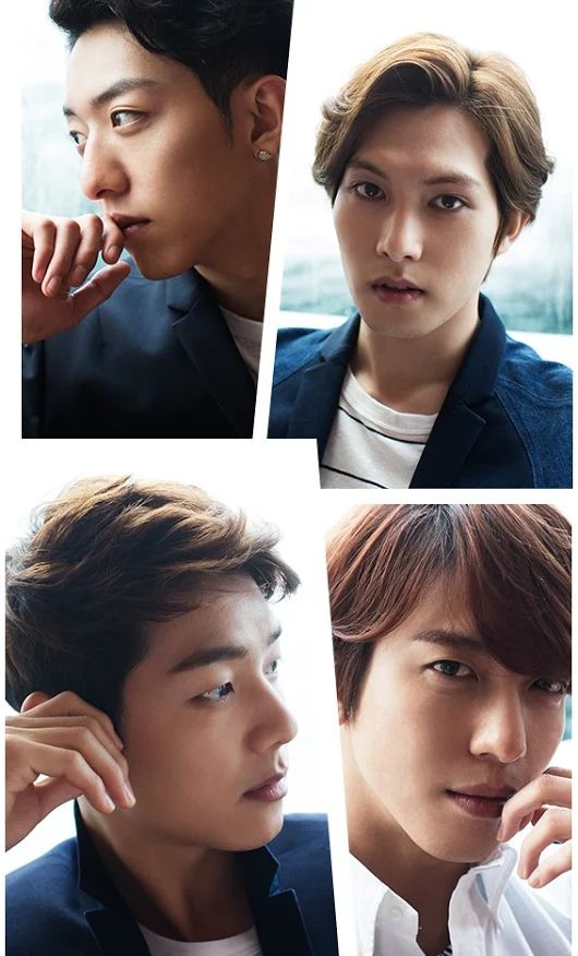 CNBlue. My baby boys! Noona Loves you!