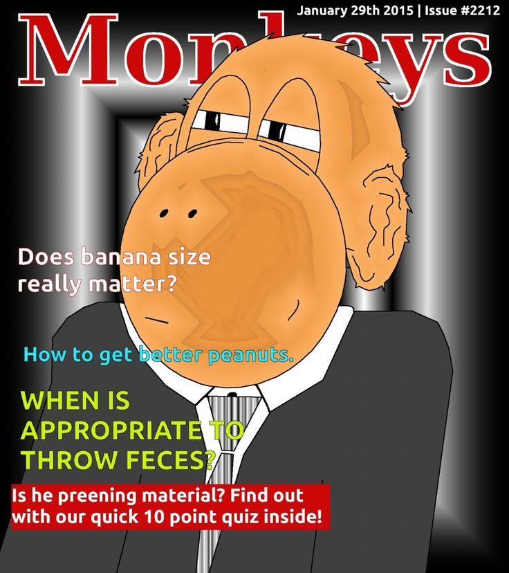 monkeys magazine cover issue