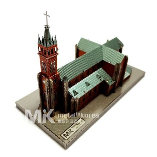 Metal In Korea Myeongdong Cathedral Actual Color 3D Innometal Steel Metal Model #MetalInKorea3DInnoMetal