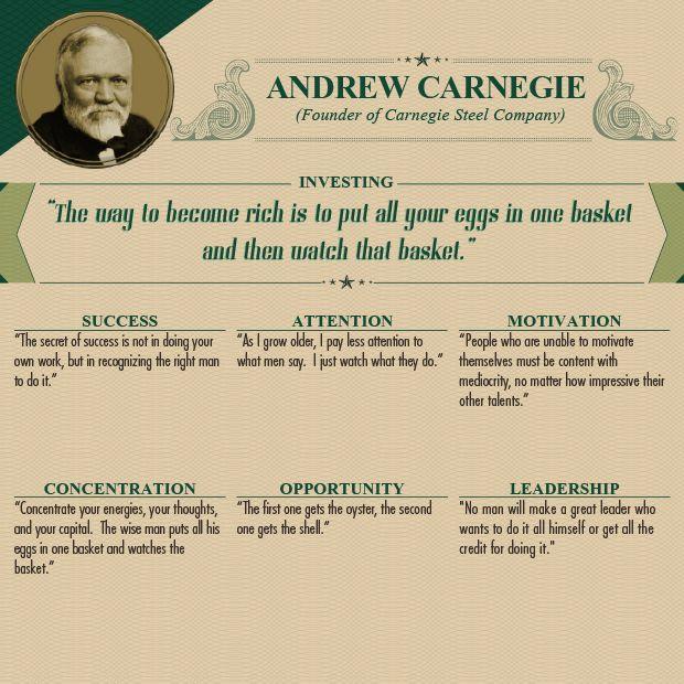 great tips: andrew carnegie