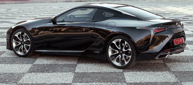 2018 Lexus LC 500h Exterior